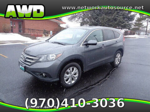2012 Honda CR-V for sale at Network Auto Source in Loveland CO