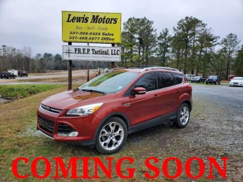 2015 Ford Escape for sale at Lewis Motors LLC in Deridder LA