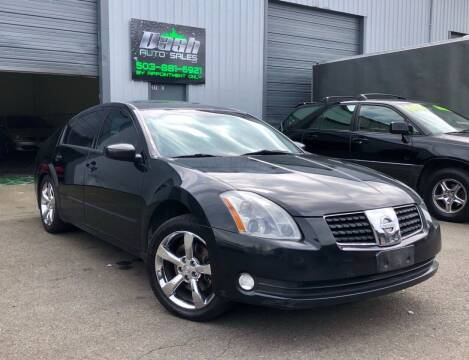 2006 Nissan Maxima for sale at DASH AUTO SALES LLC in Salem OR