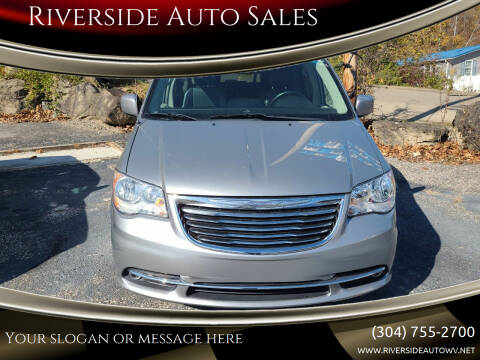 2014 Chrysler Town and Country for sale at Riverside Auto Sales in Saint Albans WV