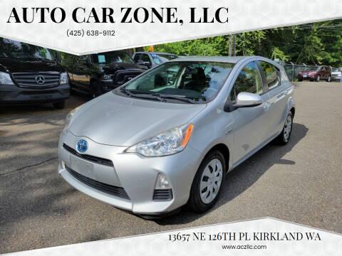 2012 Toyota Prius c for sale at Auto Car Zone, LLC in Kirkland WA