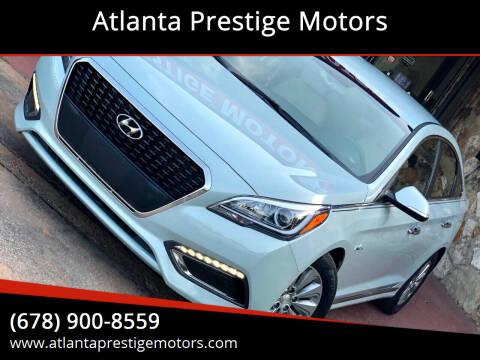 2016 Hyundai Sonata Hybrid for sale at Atlanta Prestige Motors in Decatur GA