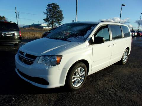 2016 Dodge Grand Caravan for sale at DAVE KNAPP USED CARS in Lapeer MI
