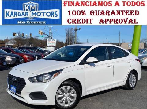 2020 Hyundai Accent for sale at Kargar Motors of Manassas in Manassas VA