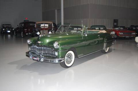 1949 Desoto Custom Convertible Coupe
