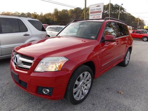 2012 Mercedes-Benz GLK for sale at Deer Park Auto Sales Corp in Newport News VA