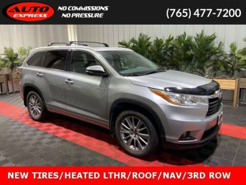 2016 Toyota Highlander Hybrid for sale at Auto Express in Lafayette IN