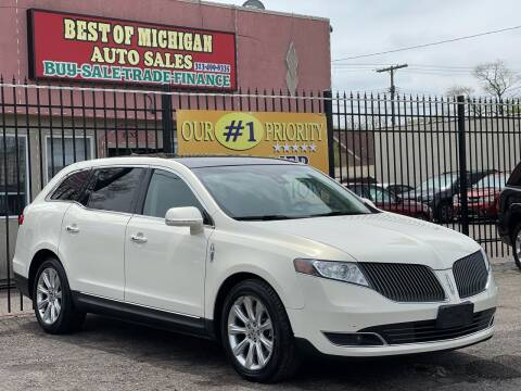 2014 Lincoln MKT for sale at Best of Michigan Auto Sales in Detroit MI