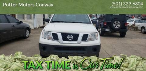 2016 Nissan Frontier for sale at Potter Motors Conway in Conway AR