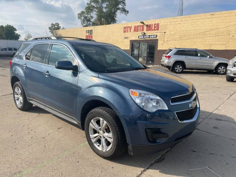 2011 Chevrolet Equinox for sale at City Auto Sales in Roseville MI