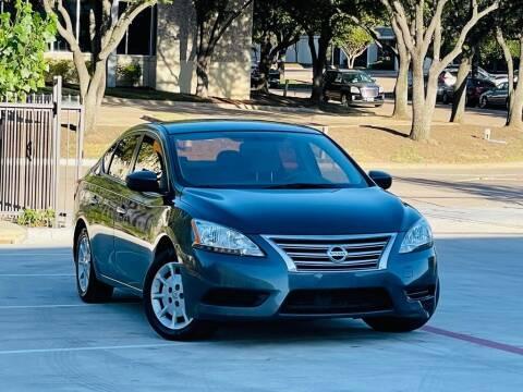 2013 Nissan Sentra for sale at Texas Drive Auto in Dallas TX