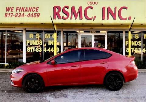 2013 Dodge Dart for sale at Ron Self Motor Company in Fort Worth TX