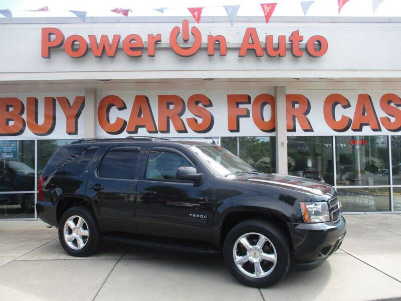 2013 Chevrolet Tahoe for sale at Power On Auto LLC in Monroe NC
