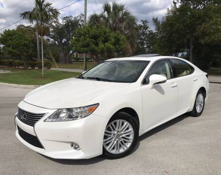 2014 Lexus ES 350 for sale at FIRST FLORIDA MOTOR SPORTS in Pompano Beach FL