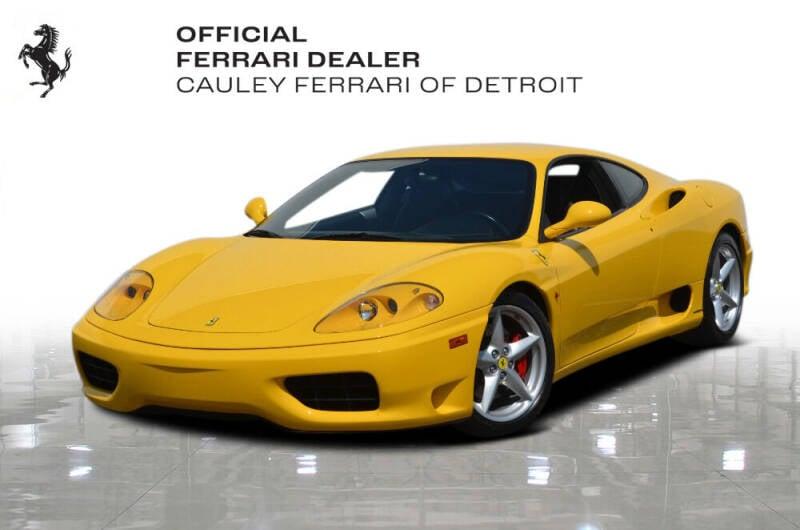 2003 Ferrari 360 Modena for sale in West Bloomfield, MI