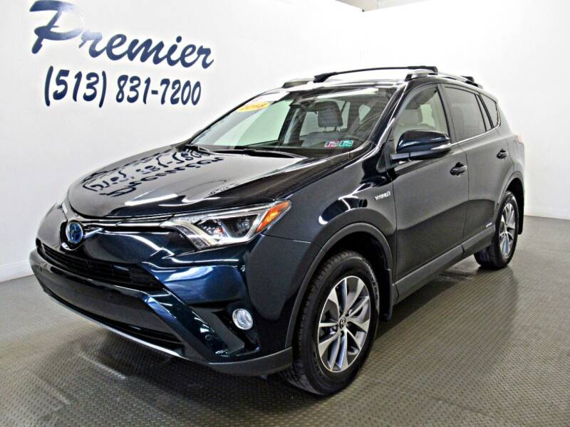 2018 Toyota RAV4 Hybrid for sale at Premier Automotive Group in Milford OH