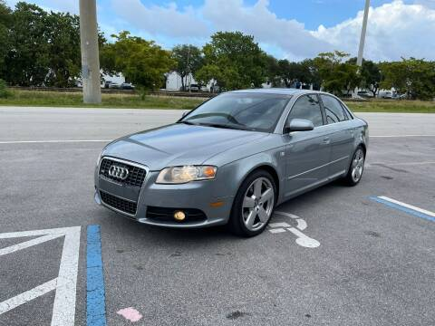 2007 Audi A4 for sale at UNITED AUTO BROKERS in Hollywood FL
