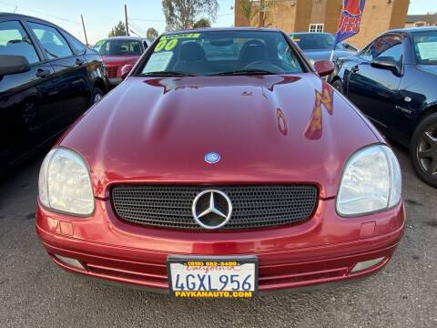 2000 Mercedes-Benz SLK for sale at Paykan Auto Sales Inc in San Diego CA