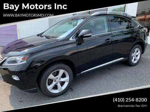 2015 Lexus RX 350 for sale at Bay Motors Inc in Baltimore MD