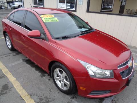 2012 Chevrolet Cruze for sale at BBL Auto Sales in Yakima WA