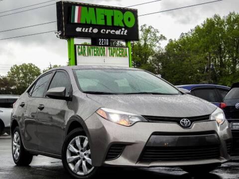 2016 Toyota Corolla for sale at Used Imports Auto - Metro Auto Credit in Smyrna GA