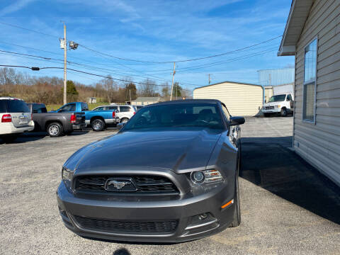 2014 Ford Mustang for sale at K & P Used Cars, Inc. in Philadelphia TN