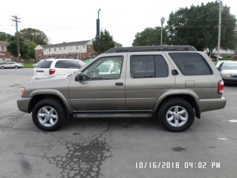 2003 Nissan Pathfinder for sale at XXX Kar Mart in York PA