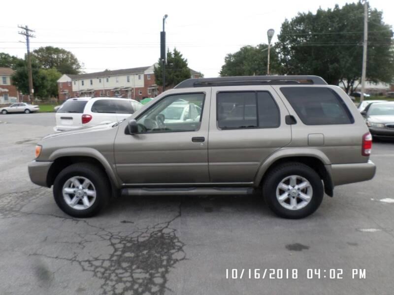 2003 Nissan Pathfinder for sale at XXX Kar Mart in York PA