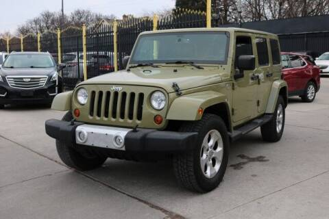 2013 Jeep Wrangler Unlimited for sale at F & M AUTO SALES in Detroit MI