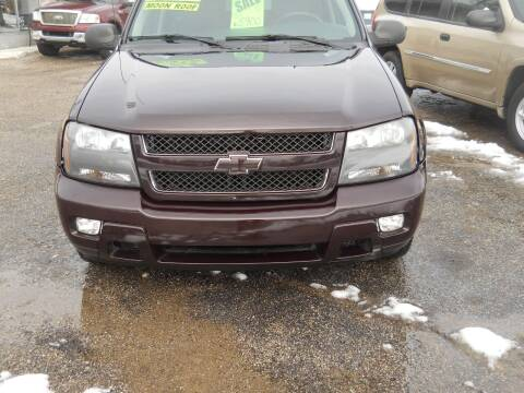 2008 Chevrolet TrailBlazer for sale at Shaw Motor Sales in Kalkaska MI