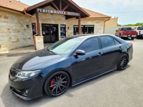 2014 Toyota Camry for sale at Performance Motors Killeen Second Chance in Killeen TX