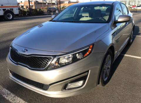 2015 Kia Optima for sale at MAGIC AUTO SALES in Little Ferry NJ
