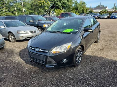 2013 Ford Focus for sale at ASAP AUTO SALES in Muskegon MI