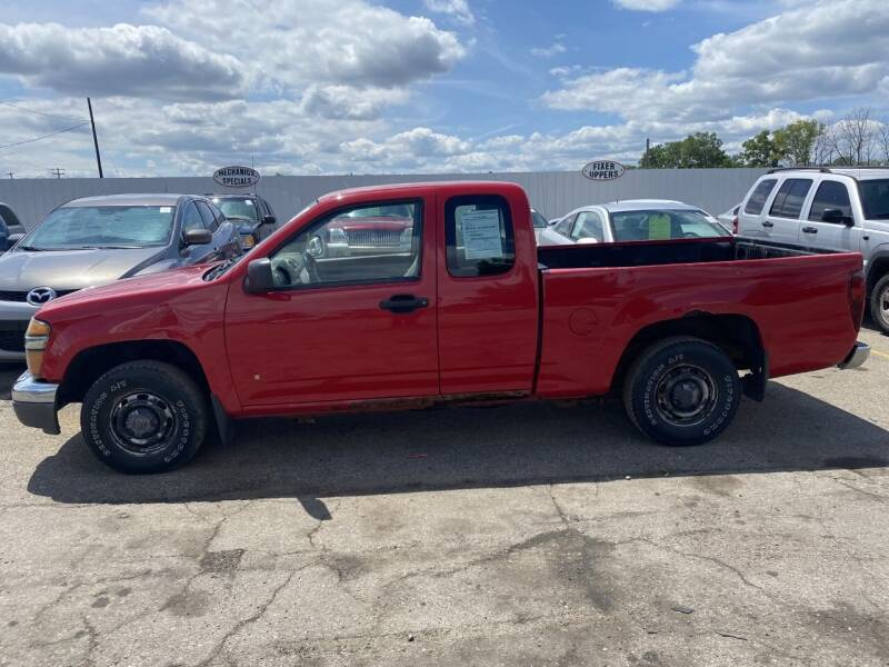 2008 Chevrolet Colorado for sale at WELLER BUDGET LOT in Grand Rapids MI