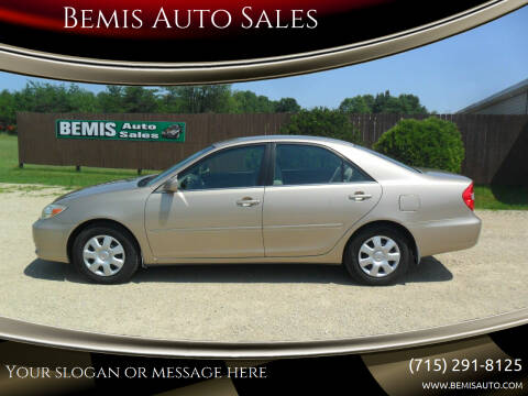 2003 Toyota Camry for sale at Bemis Auto Sales in Crivitz WI