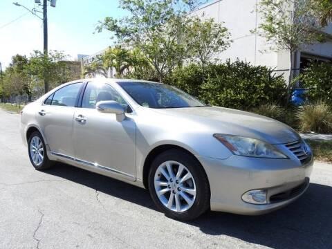 2012 Lexus ES 350 for sale at SUPER DEAL MOTORS in Hollywood FL