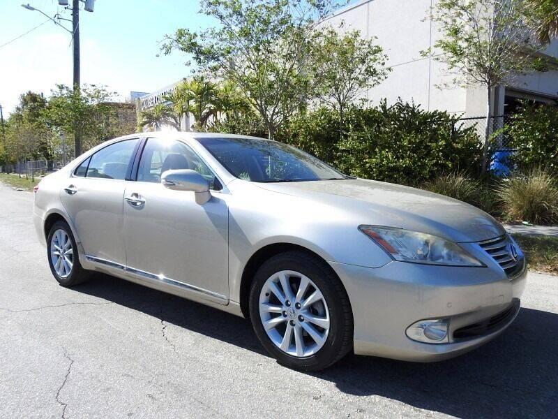 2012 Lexus ES 350 for sale in Hollywood, FL