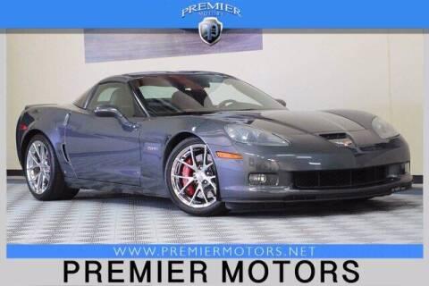 2009 Chevrolet Corvette for sale at Premier Motors in Hayward CA