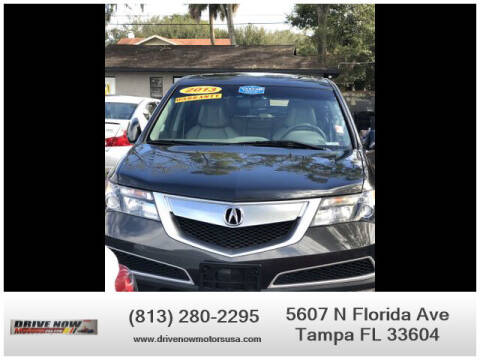 2013 Acura MDX for sale at Drive Now Motors USA in Tampa FL