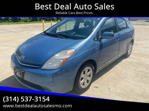 2007 Toyota Prius for sale at Best Deal Auto Sales in Saint Charles MO