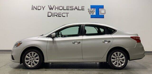 2018 Nissan Sentra for sale at Indy Wholesale Direct in Carmel IN