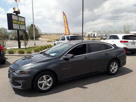 2018 Chevrolet Malibu for sale at More-Skinny Used Cars in Pueblo CO