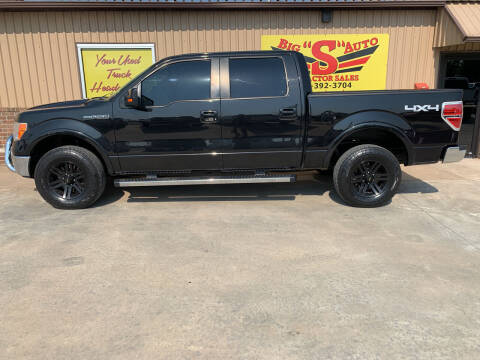 2013 Ford F-150 for sale at BIG 'S' AUTO & TRACTOR SALES in Blanchard OK