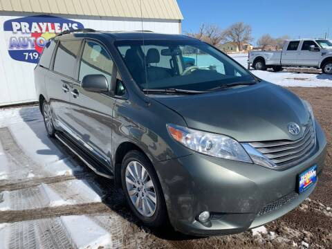 2014 Toyota Sienna for sale at Praylea's Auto Sales in Peyton CO