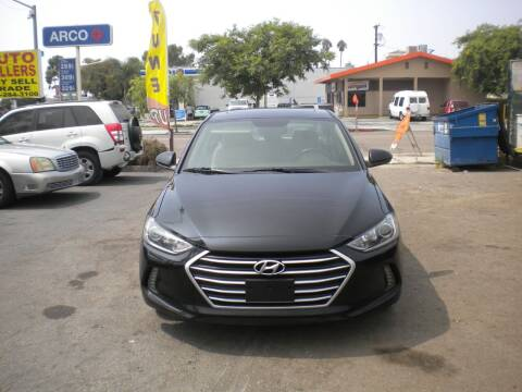 2017 Hyundai Elantra for sale at AUTO SELLERS INC in San Diego CA