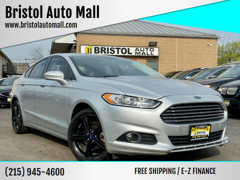 2016 Ford Fusion for sale at Bristol Auto Mall in Levittown PA