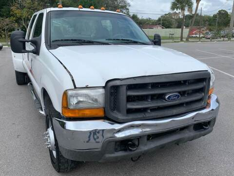 1999 Ford F-350 Super Duty for sale at LUXURY AUTO MALL in Tampa FL