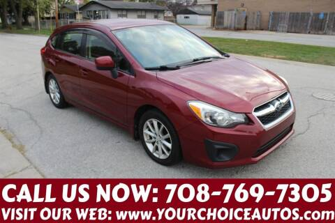 2014 Subaru Impreza for sale at Your Choice Autos in Posen IL