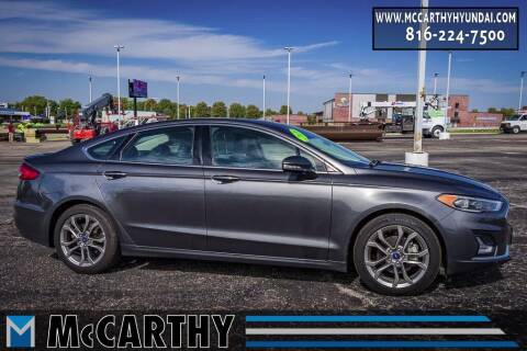 2020 Ford Fusion Hybrid for sale at Mr. KC Cars - McCarthy Hyundai in Blue Springs MO