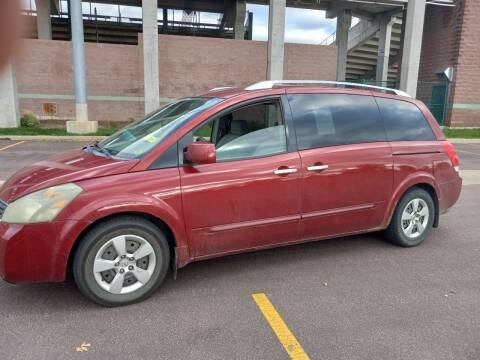 2007 Nissan Quest for sale at ZITTERICH AUTO SALE'S in Sioux Falls SD